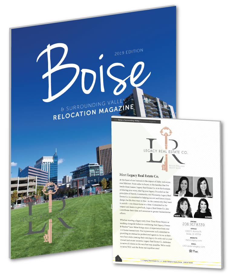 2019 Boise Relocation Magazine